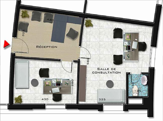 Plans bureaux